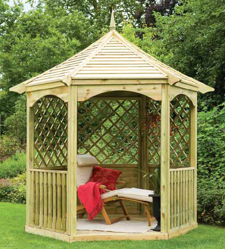 Modern Garden Gazebo : contemporary gazebo and garden room from forestgarden contemporary ...